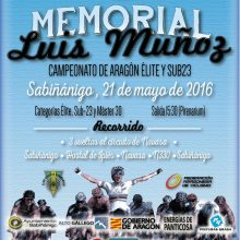 MEMORIAL LUIS MUÑOZ